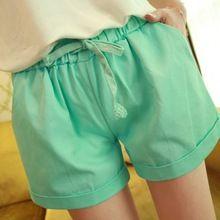 Mulheres Shorts de cintura 2015 verão Shorts soltos calções Plus Size Shorts de mulheres Feminino(China (Mainland))