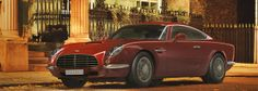 "DBA SpeedBack - British luxury car with retro shapes Now, new producer David Brown Automotive revealed its first car - a grand tourer called ""Speed​​Back""."