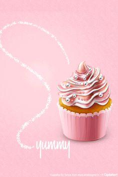 91 Best Cupcake.Posters.Advertising images | Cupcake art ...