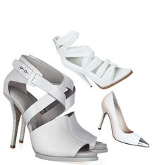 white shoes-Hit Summer 2013    Givenchy, Alexander Wang e Wittner