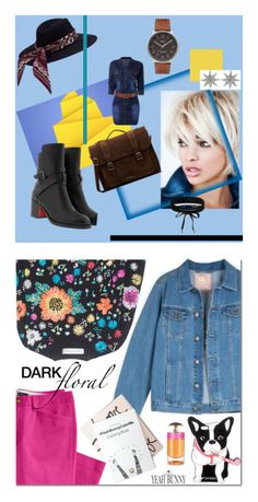 """""""Djins Style"""" by vvv-tory on Polyvore featuring мода, Victoria, Victoria Beckham, Lands' End, Yeah Bunny и Prada"""