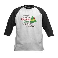 Funny Elf #Christmas Buddy the Elf Quote Spread Christmas Cheer Kid's Tee