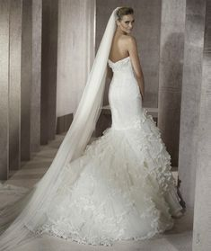 Amazing Mermaid Wedding Dresses 2013