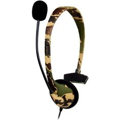 New - Xbox 360 Broadcaster Headset In Camo - Dg3601722, 2015 Amazon Top Rated Headsets #PCAccessory