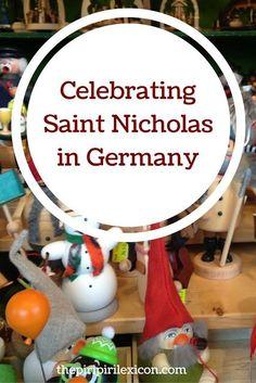 Celebrating Saint Nicholas (Nikolaus) in Germany Old Fashion Christmas Tree, Retro Christmas, Kids Christmas, Christmas Christmas, Primitive Crafts, Primitive Christmas, Country Christmas, Celebration Around The World