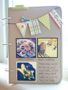 """Random Stuff"" mini album  by Natt Smith at Awesomeness of Crafting"