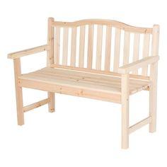 Belfort Garden Bench Yellow – Shine Company Inc. Teak Garden Bench, Wooden Garden Benches, Outdoor Chairs, Outdoor Furniture, Outdoor Decor, Cedar Bench, Garden In The Woods, Particle Board