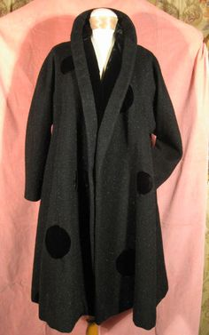 1940s Lilli Ann Swing Coat at Robin Clayton Vintage