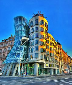 The Dancing House... Prague. Courtesy of bohemia-apartments.com