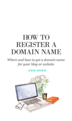 Where and how to get a domain name for your blog or website