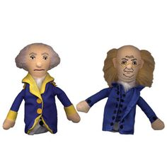 Washington & Franklin puppets by Unemployed Philosophers