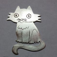 Boliche De #plata #silver #handmade #cat #catlover #instacats #catsofinstagram
