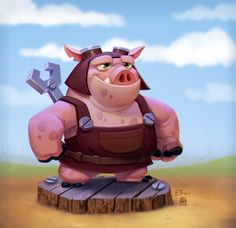 ArtStation - Hog Right, Patri Balanovsky
