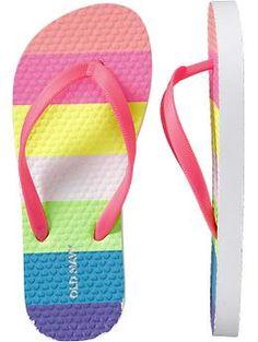 4f150ee1d 9 Best Rainbow Flip Flops images