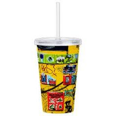 Funny and colorful cup inspired by Berlin Street Art photography