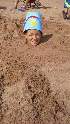 Fun at Panmure beach!  Location: Panmure Island,  Prince Edward Island  Submitted by: Robin A.