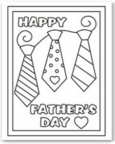 One of our fun kids printable activities are these free coloring cards. They are an easy way for younger kids to make dad a card for Father's Day. Father's Day Activities, Printable Activities For Kids, Fathers Day Crafts, Happy Fathers Day, Coloring Sheets, Coloring Pages, Free Coloring, Colouring Pics, Handmade Father's Day Gifts