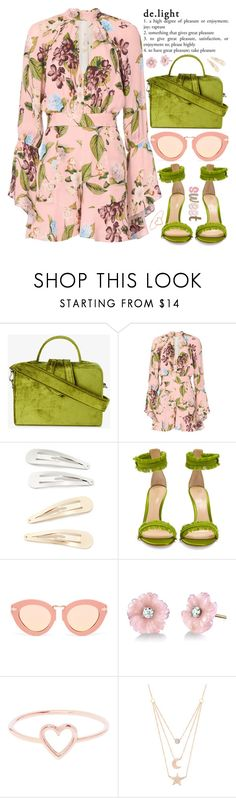 """""""HAPPY INTERNATIONAL WOMEN'S DAY !!! 👯 ♀️👸🏼💕"""" by rupp ❤ liked on Polyvore featuring Mehry Mu, Nicholas, Kitsch, Gianvito Rossi, Karen Walker, Irene Neuwirth, Love Is and Gabi Rielle"""