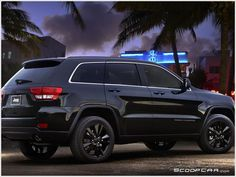 The unveiling of the Grand Cherokee black at the Houston Auto Show, the company took advantage of the opportunity to launch a competition asking internet users to find a name.