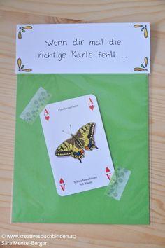 Wenn dir mal die richtige Karte fehlt ...  Geschenk: Herz-Ass (Spielkarte)    Die Wenn-Box ist ein tolles Geburtstagsgeschenk, du kannst sie aber auch   basteln für eine Hochzeit, als Mitbringsel oder für Weihnachten.    #kreativesschaffen #wennbox