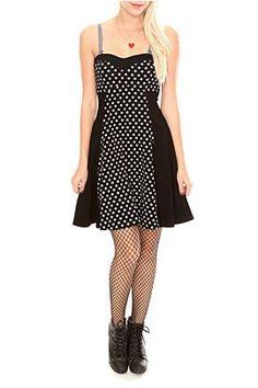 royal bones black and white star sweetheart tube dress $39.50