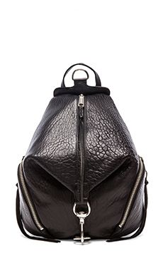 Rebecca Minkoff Julian Backpack in Black | REVOLVE