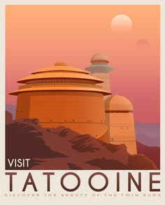 Star Wars Travel Posters - Created by The Seventh Art ShopPrints available for sale on Etsy.