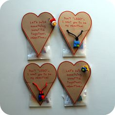 Chez Beeper Bebe: Make This: LEGO Accessory Valentine Tutorial