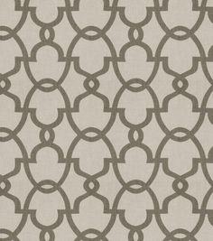 Home Decor Print Fabric- Eaton Square University Linen