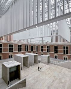 The New Rijksmuseum, Main Building in Amsterdam, Netherlands. Cruz y Ortiz architects | TC Cuadernos digital magazine 107-108 Cruz y Ortiz. Architecture 2000-2013 #architecture