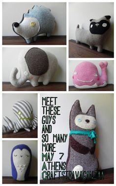 Me encanta esta idea de reciclar la ropa, incluyendo lana...