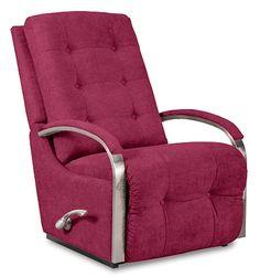 Impulse Reclina-Rocker® Recliner by La-Z-Boy  sc 1 st  Pinterest & La-Z-boy Leather Recliner - Harbor Town | Recliner Leather sofas ... islam-shia.org