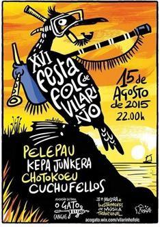 XVI Festival Folk Vilariño en Cangas