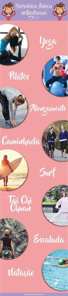 Sem estresse: exercícios físicos para relaxar - Blog da Mimis #exercícios #atividadefísica #estresse #surf #caminhada #alongamento #yoga #pilates #tips #dicas