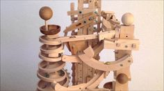 One of seven amazing marble machines by Paul Grundbacher. http://woodgears.ca/marbles/paul.html