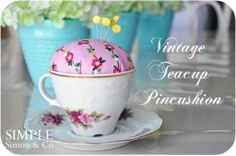DIY: Tea Cup Ideas