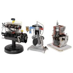 3 Driving School Demonstration Models, c. 1960 - May 2019 Next Catalogue, Driving School, Germany, Auction, Tech, Science, Models, Music, Templates