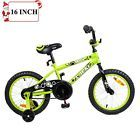 Kid039s Bike BMX Bicycle Perfect Gift For 4-8 Years Old Boys  Girls, 16 Inch-Lime3  UPC - 788045696265