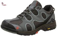 Jack Wolfskin Crosswind Texapore O2+ Low W, Chaussures de Randonnée Basses Femme - Gris (tarmac Grey 6011), 38 EU - Chaussures jack wolfskin (*Partner-Link)