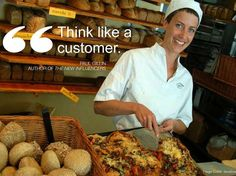 """Think like a customer"" by Paul Gillin @pgillin"