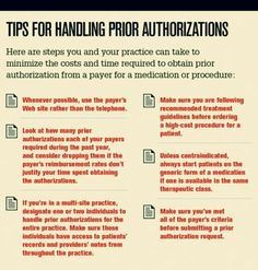 How To Get A PreAuthorization Request Approved By Your Health