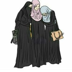 images of islamic girls hijab animated - - Yahoo India Image Search results Anime Muslim, Muslim Hijab, Hijab Niqab, Islam Muslim, Allah Islam, Beautiful Muslim Women, Beautiful Hijab, Hijabi Girl, Girl Hijab