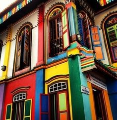 Colorful House Collection (10 pics) | See More Pictures | #SeeMorePictures