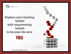 """How to become the new YOU? """"Replace your limiting  beliefs with empowering  beliefs to become the new YOU"""" #SevenClover #Reborn #SelfMastery"""