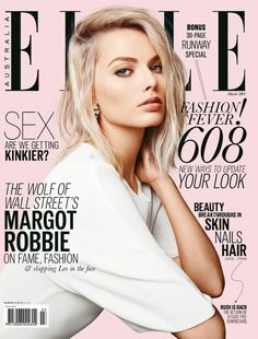 elle magazine covers | Margot Robbie – Elle Magazine (Australia) – March 2014 Cover