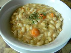 Curried Great Northern Beans and Carrot Soup - The Blood Sugar Solution