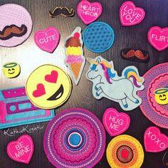 Embroidered Patches - Patches sticken macht süchtig