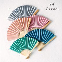 10er Set Fächer in 14 Farben Décor