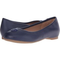 Armani Jeans Saffiano Leather Ballet Flat (Blue) Women's Ballet Shoes ($100) ❤ liked on Polyvore featuring shoes, flats, blue, ballet flats, ballet shoes flats, skimmer flats, blue ballet shoes and round toe ballet flats