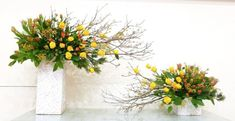 Church Flower Arrangements, Floral Arrangements, Altar Decorations, Funeral Flowers, Ikebana, Spring, Plants, Bunch Of Flowers, Flower Arrangement